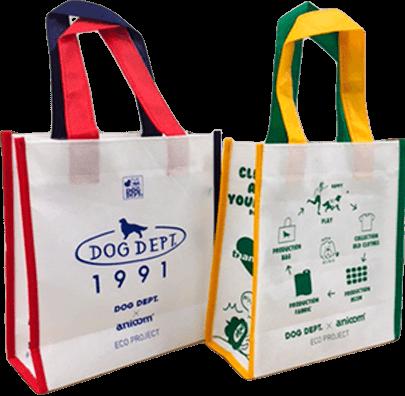 ECO BSGAG PRESENT ブランドのドッグデプト/DOG DEPT