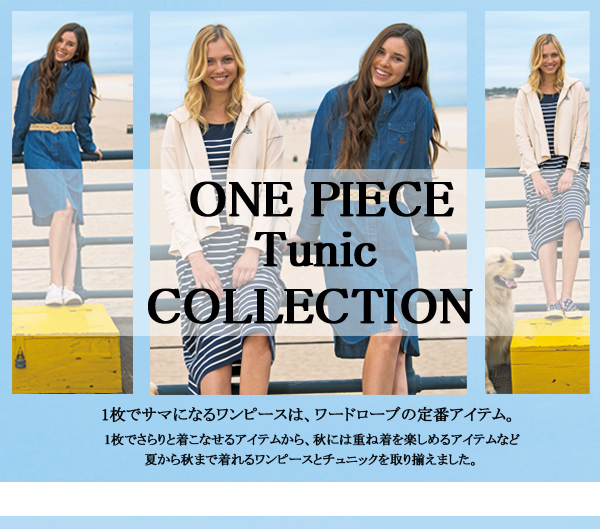 ONE PIECE Tunic COLLECTION