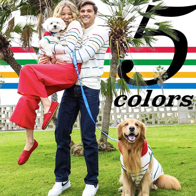 5カラーシリーズ ブランドのドッグデプト/DOG DEPT ペアルック