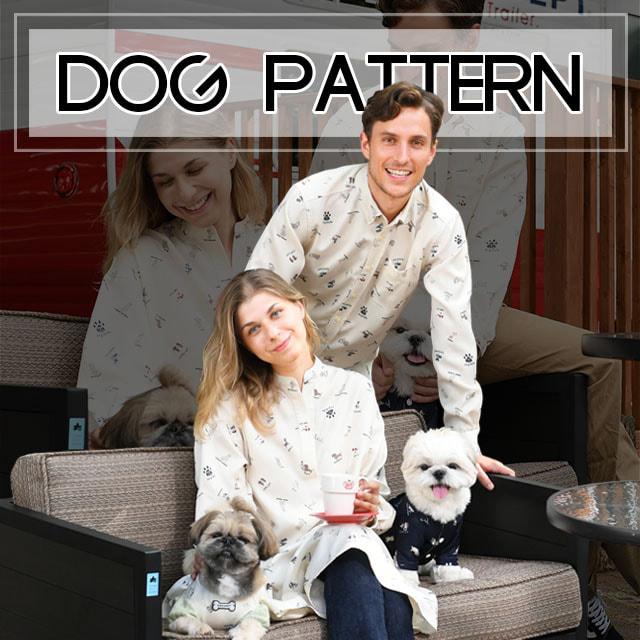 ドッグパータンペアルック ブランドのドッグデプト/DOG DEPT ペアルック