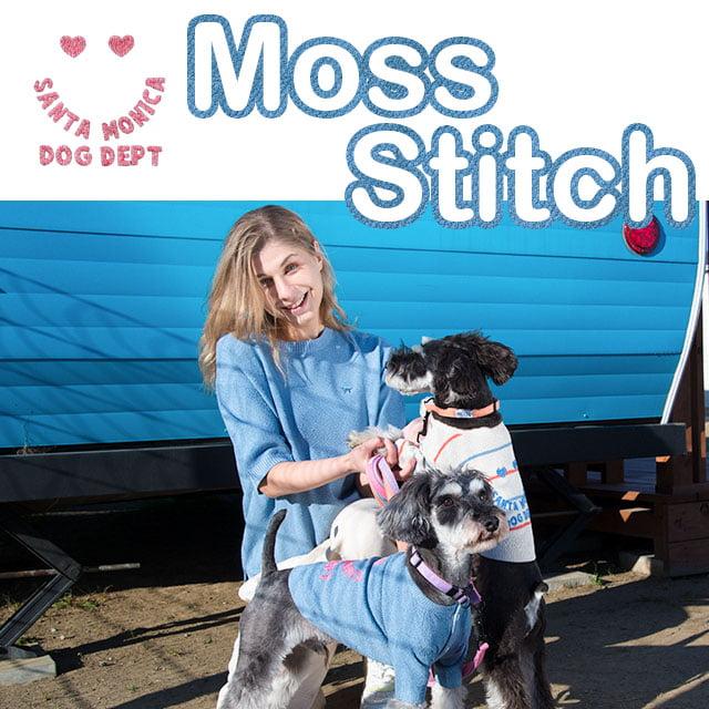 メッシュ編みペアシリーズ ブランドのドッグデプト/DOG DEPT ペアルック