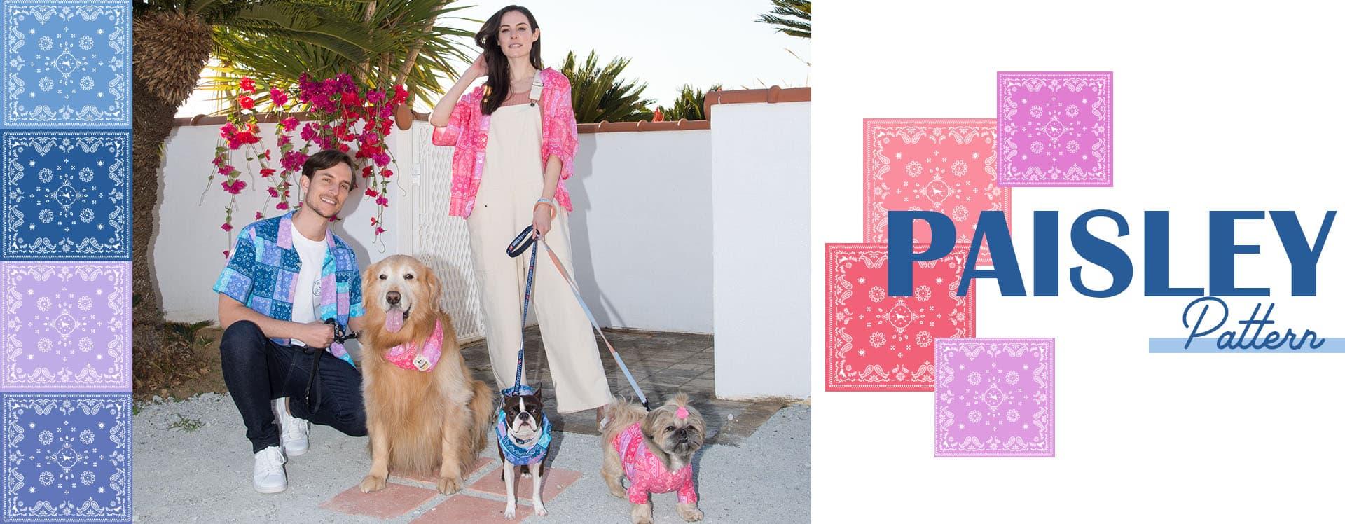 ペイズリーパッチワークシリーズ ブランドのドッグデプト/DOG DEPT