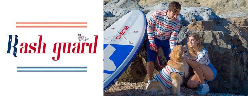 ラッシュガードシリーズ ブランドのドッグデプト/DOG DEPT ペアルック