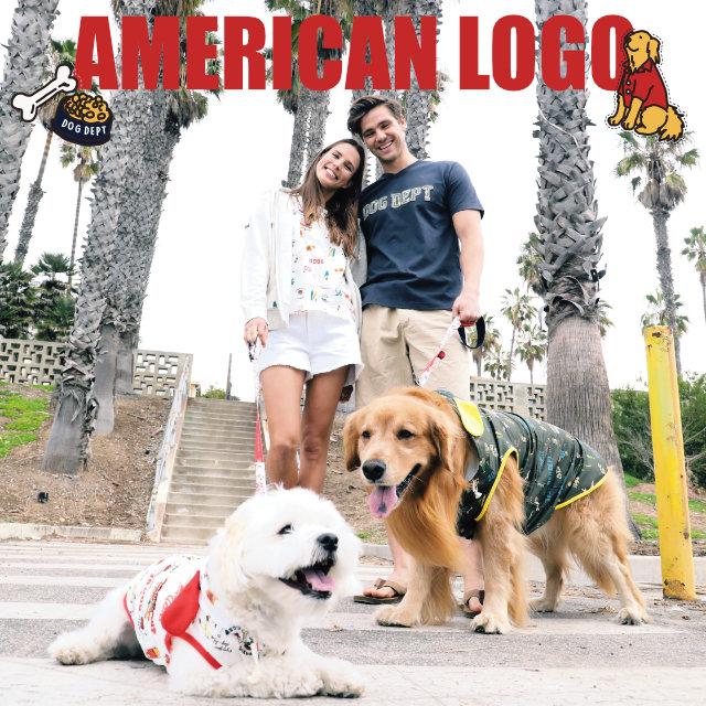 アメリカンロゴシリーズ ブランドのドッグデプト/DOG DEPT ペアルック